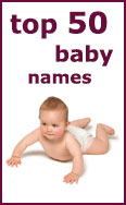 Link to the top 50 Baby Names