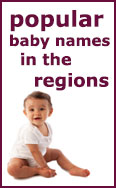 Link to top regional baby names