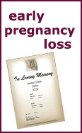 Link to information on Early Pregnancy Loss